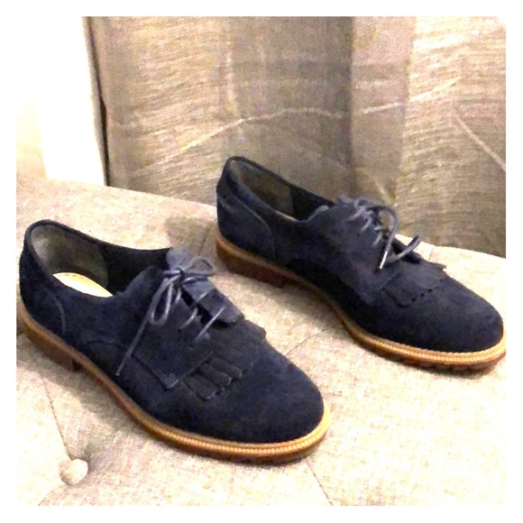 limitierte Anzahl neuartiges Design beste Turnschuhe Clark's Somerset blue Suede Women's Mabel Oxfords